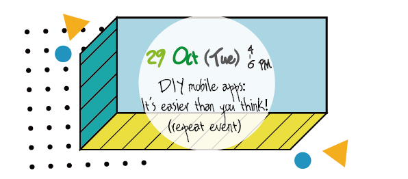 DIY mobile apps: It's easier than you think!  (Repeat Event)